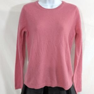 Ellen Tracy Coral Cashmere Sweater